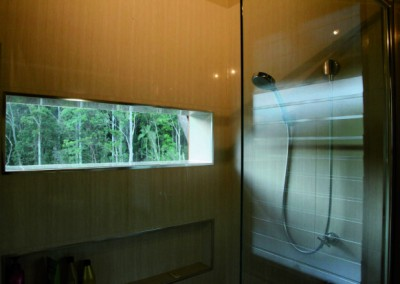 The huge shower